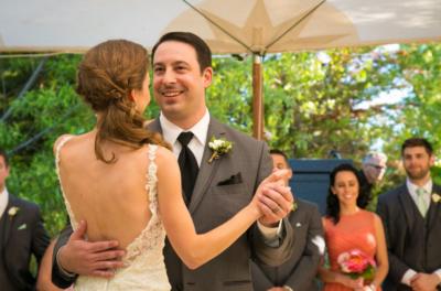 Wedding couple first dance central coast, CA