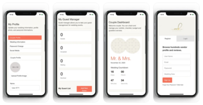 CCB Wedding Planning Tools App