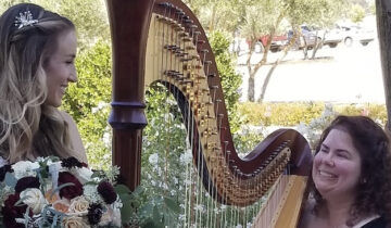 Beverly Arnold, Harpist